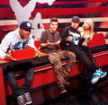 Justin on the set of Ridiculousness