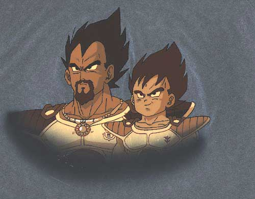 KIng Vegeta and Kid Vegeta