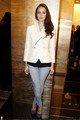 Kaya @ Chanel's New Montaigne Botique - Opening Party - kaya-scodelario photo