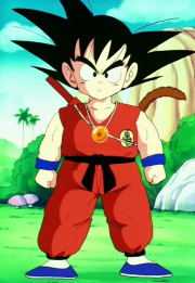 Kid goku tortuga School Outfit