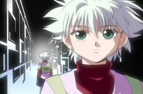 hunter x hunter wallpaper probably with animê entitled Killua