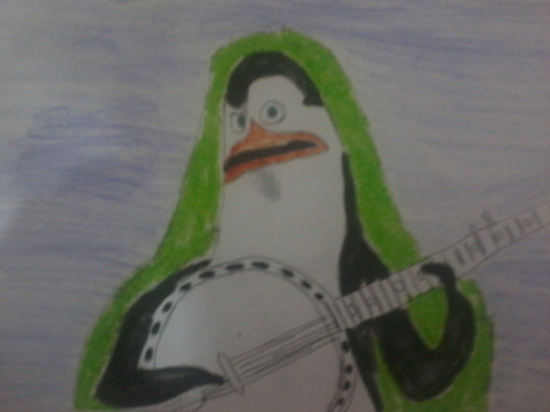 Kowalski with his Banjo