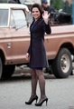 Lana Parrilla On Set - Steveston - March, 05