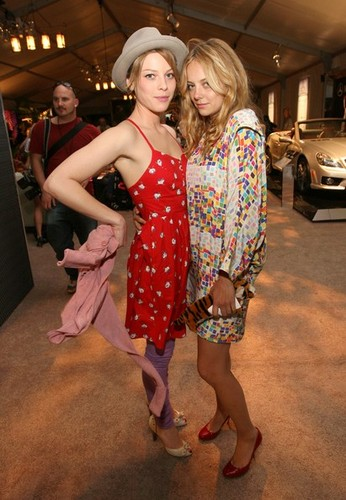 Lauren German and Bijou Phillips