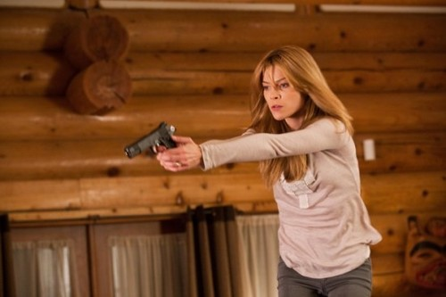 Lauren German on Human Target