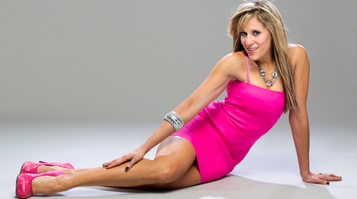 Lilian Garcia kertas dinding probably with a koktel dress and a chemise called Lilian Garcia