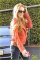 Lindsay Lohan Debuts New Red Hair - lindsay-lohan photo