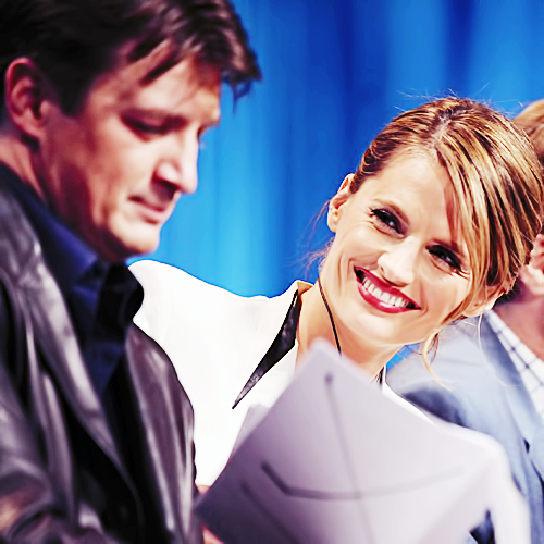 Castle & Beckett wallpaper possibly with a portrait called Love <3