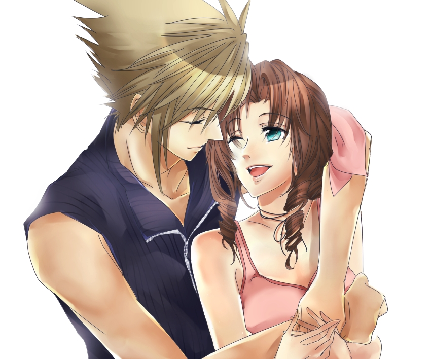 final fantasy cloud and aerith relationship marketing