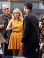 March 9th - Visiting Extra at The Grove - nicole-richie photo
