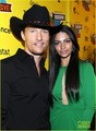 Matthew McConaughey & Camila Alves: 'Killer Joe' Premiere - matthew-mcconaughey photo