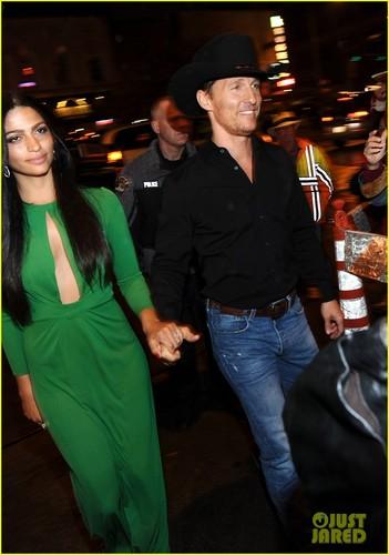 Matthew McConaughey & Camila Alves: 'Killer Joe' Premiere