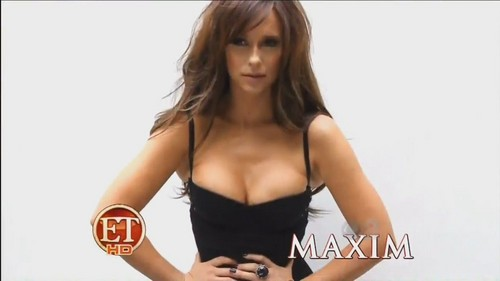 Jennifer Love Hewitt wallpaper possibly with attractiveness, a bustier, and a portrait entitled Maxim - April 2012
