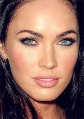 Megan लोमड़ी, फॉक्स makeup