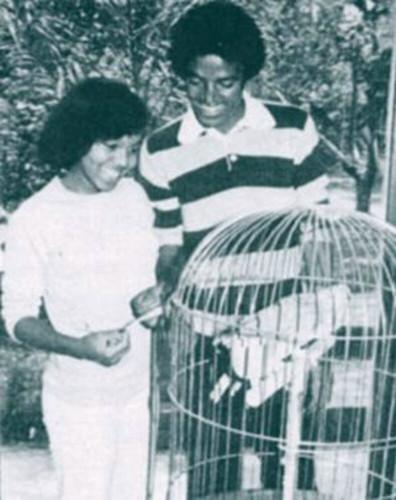Michael And Janet Jackson Rare Photo's