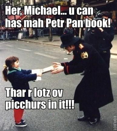 Michael meets a little girl in Paris!