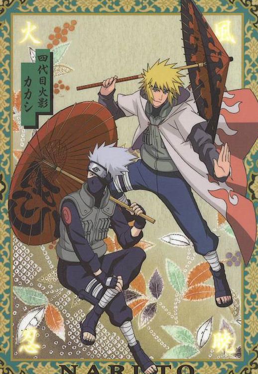 Naruto Images Minato Kakashi Hd Wallpaper And Background Photos