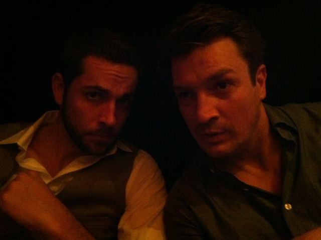 Nathan Fillion and Zachary Levi <3