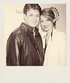 Nathan &amp; Stana - Paleyfest 2012 - nathan-fillion-and-stana-katic fan art
