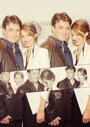 Nathan and Stana on PaleyFest 2012