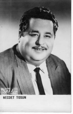 Necdet Tosun (d. 3 august 1926 - Balıkesir, ö. 10 may 1975 - İstanbul)