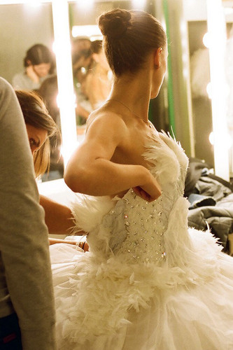 New Black Swan Behind the Scenes Picture