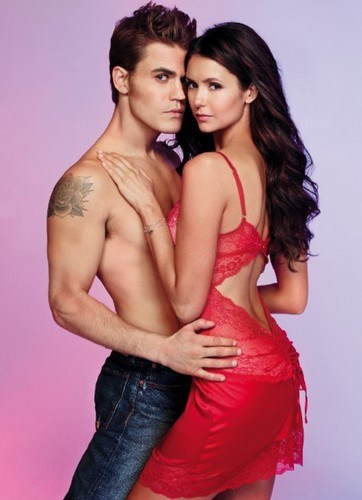 The Vampire Diaries پیپر وال called New EW Photoshoot Pics