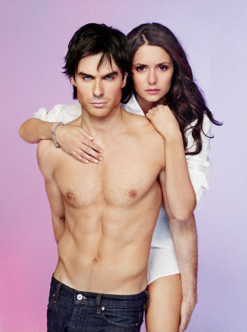 The Vampire Diaries wallpaper possibly with a hunk, a six pack, and skin entitled New EW Photoshoot Pics