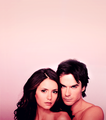 Nian EW Photoshoot - ian-somerhalder-and-nina-dobrev screencap