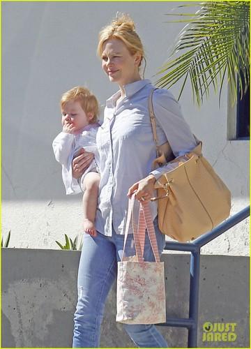 Nicole Kidman & Faith: Gym Gals
