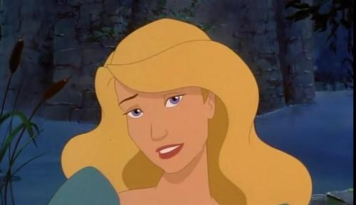 어린 시절 애니메이션 영화 여자 주인공 바탕화면 with 아니메 called Odette - The 백조 Princess