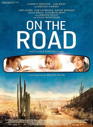 On the Road (Movie) wallpaper possibly containing anime entitled On The Road Official poster