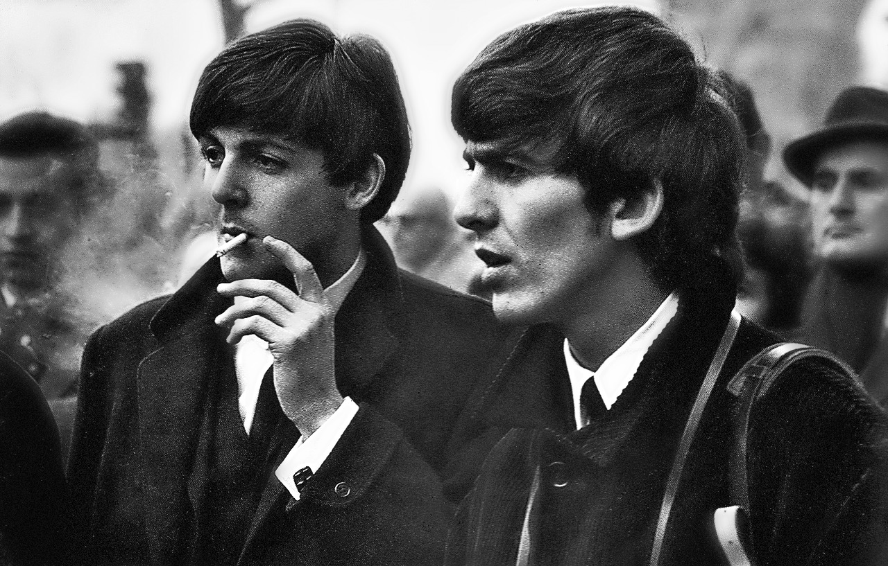 Paul & George - The Beatles Photo (29628058) - Fanpop George En Paul