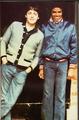 Paul McCartney and Michael Jackson - michael-jackson photo