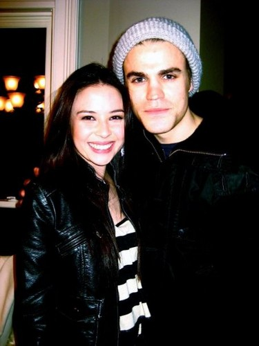 Paul Wesley and Malese Jow