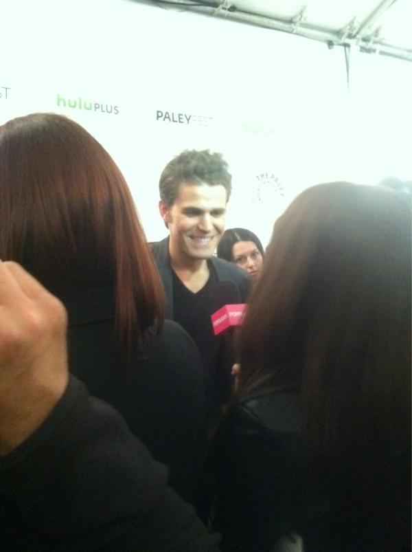 Paul at PaleyFest 2012