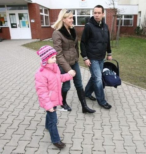 Pavel Horvath and wife 2008 - wags Photo