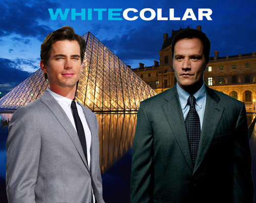 Peter watches Neal at Louvre - white-collar Fan Art