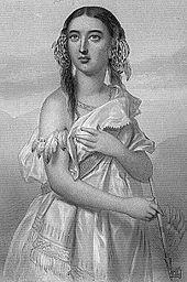 Pocahontas - Matoaka- Rebecca Rolfe, c. 1595 – March 1617)