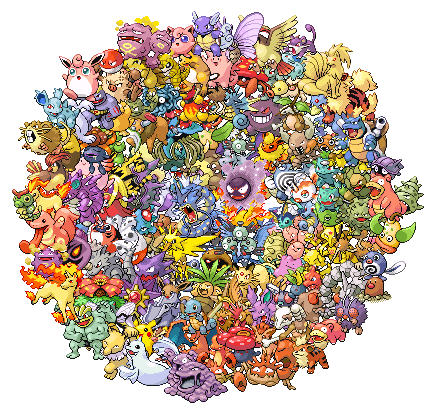 Pokémon achtergrond probably containing a voedzaam afkooksel, tisane entitled Pokemon Group