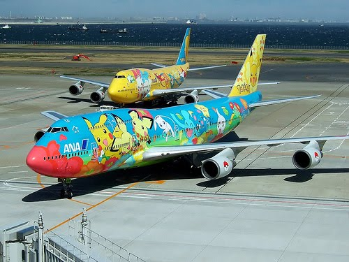 Pokemon airplanes