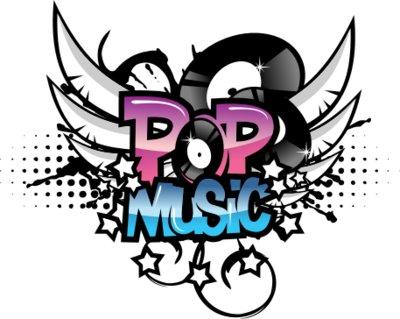 Muzik kertas dinding entitled Pop Muzik