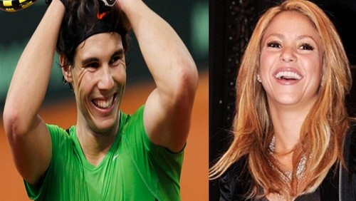 Rafa and Shakira same smile ..