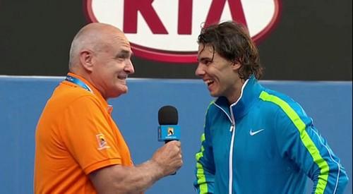 Rafa funny interview 2012