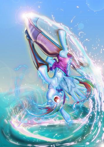 RainbowDash Jetski