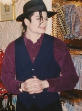 Rare Photo of Michael Jackson
