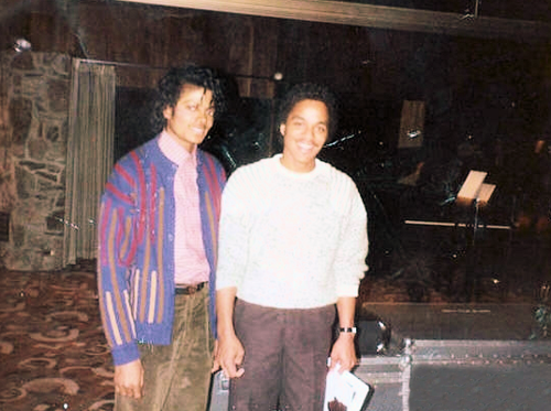 Rare picture of Marlon Jackson and his brother Michael Jackson