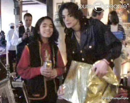 Rare picture of Omer and Michael Jackson