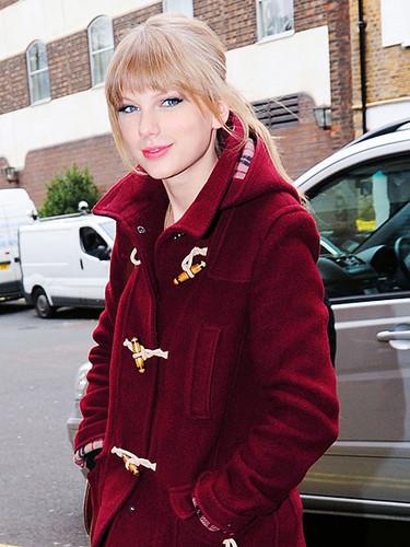 Ravishing in Red Coat!