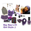 射线, 雷 Ray's #1 Girl Look ;)